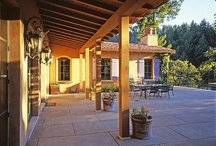 Outdoor living space / by Kathy Robinson Vollmer