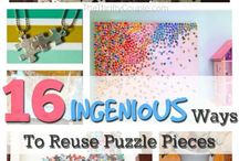 Puzzle pieces ideas