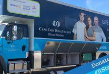 Cape Cod Healthcare Blood Mobile