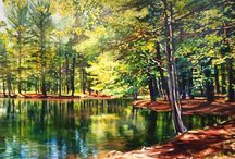 Paintings by Michelle Courier / Paintings by Michelle Courier.  Original acrylics.  These paintings are examples of previous work.  Some may be available.  Contact c2cgallery@gmail.com for current information.