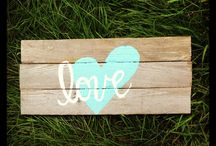 Wedding Signs & Woodwork Projects