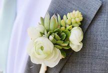 Wedding : Boutonniere