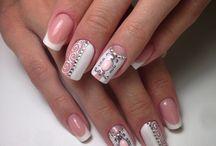 Bridal / French mani