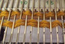 Машинное вязание спицами