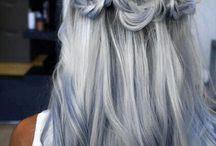grey / hair