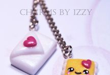 Polymer clay cute charms / by Giulia Wetzer