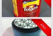 CRAFTS - Repurposing  Plastic Containers / Using plastick