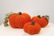 Halloween Crochet / crocheted objects with a Halloween theme.