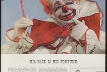 Clowns Are Creepy!!! / by Alyse Wynn