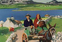 Travel Europa / Plakátok, Utazás régen, Városok, Országok