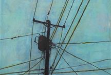 Poles and wires