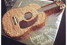 Cake guitarra