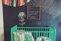 Boho Nursery Ideas / Eclectic, Modern and Bohemian - these nurseries are almost as cool as the babies that live in them!