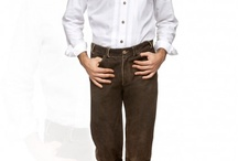 Trachten Lederhosen long / The durable and elegant long leather trousers are modelled on the classical traditional costume designs. Thanks to their neutral look, these trousers can also be worn everyday and are easily combined with tops of the most different styles and designs.  http://www.trachten-dirndl-shop.co.uk