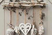 SEASONAL DECOR SHABBY