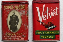 different old tins