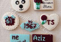Taraftar Kurabiyeleri / Fenerbahçe kurabiyeleri,galatasaray kurabiyeleri,beşiktaş kurabiyeleri,trabzonspor kurabiyeleri