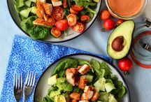 salads / delicious salads of all shapes, flavors, and colors!