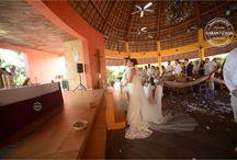 HOTEL BARCELÓ MAYA BEACH / Nuestros trabajos de montaje, decoración  e iluminacion para tu boda en la playa en Barcelo Maya Beach ademas de galeria del Resort