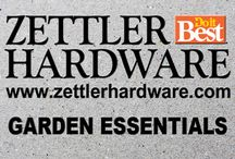 Zettler Lawn And Garden / Zettler Hardware has many lawn and garden essentials from pavers to solar lights. See us today!