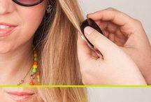 Tiza de cabello