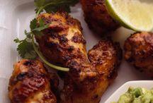 Carne y pollo