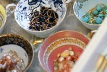 Vintage Tea / Fabric design, kitchen teas, baby showers