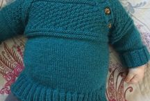 Knitting-Free baby jumpers 1!