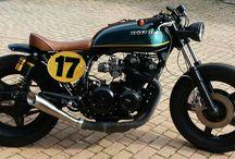 honda cb 750 / cafe racer made A&G