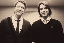 Weasley/Phelps Twins ❤️ / It's just wonderful that I can tell the difference between the two!