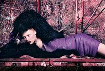 MADAME / lila de luxe Produktion: Sabine Maeulen,Model: Claudia Tassone @m4 Models,Haare & Make-up: Ute Hildenbeutel,
