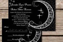 siyah davetiye