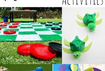 Summer Fun / Fun activities to get the whole family playing this summer!