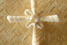 Seashell Crosses