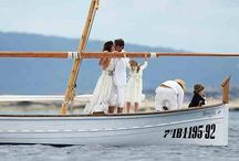 Los novios en la mar / ¡Viva los novio! Pero que vivan cerca del mar :)