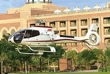 abu dhabi helicopter tours