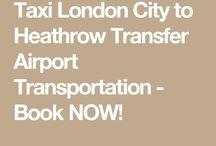 Taxi Fare London City to Heathrow Shuttle
