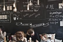 este'r likes \\ chalkboard in interior design