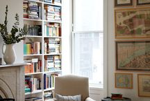 books: shelves and other storage * Bücherregale & Co.