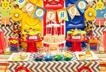 Lego Party / Ideas for Lucas' Lego birthday party.