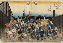 Ukiyoe - 53 stages on the Tokaido