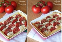 Feuilletée tomate moza