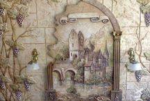 dry wall art