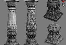 3D pillar design