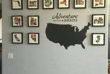 Travel wall