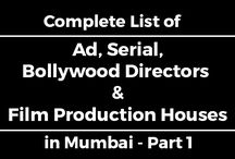 Complete List of Ad, Serial, Bollywood Directors & Film Production Houses in Mumbai