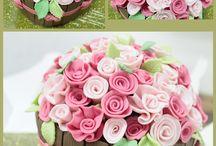Virág torták