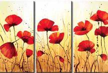 cuadros con flores