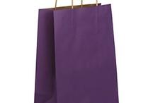 Purple gift packaging