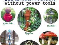 for my garden / déco et iodées jardin